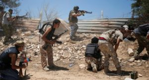 Sirte. Assalto a jihadisti