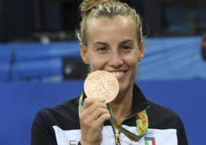 Tania Cagnotto bronzo