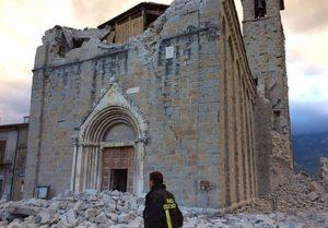 Terremoto chiesa di Amatrice