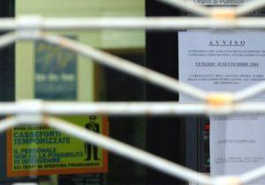 Banca e sciopero
