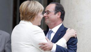 Hollande e Merkel