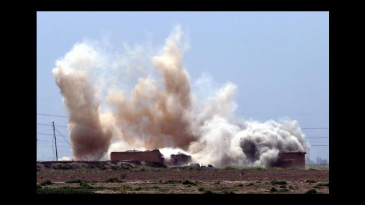 Raid aerei siria