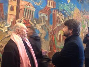 Franceschini e Dario Fo