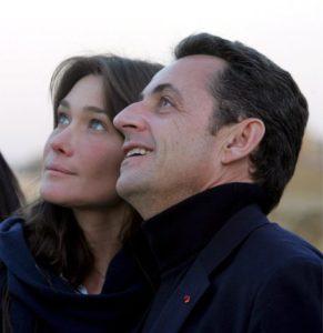 Carla Bruni e Sarkozy