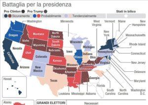 Elezioni Usa stato per stato