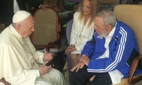 Fidel e papa Francesco