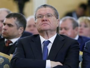 epa05228984 Russian Minister of Economic Development Alexey Ulyukaev attends the Russian Union of Industrialists and Entrepreneurs (RSPP) congress in Moscow, Russia, 24 March 2016. The Russian Union of Industrialists and Entrepreneurs (RSPP) is as a non-political organization created to protect the interests of industry. EPA/YURI KOCHETKOV