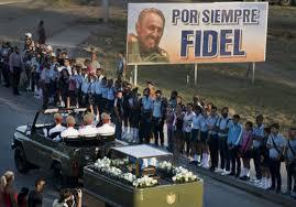Fiel Castro funerali
