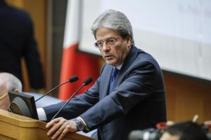 """Italian Premier Paolo Gentiloni speaks during his year-end press conference in Rome, Italy, 29 December 2016. Paolo Gentiloni said in his year-end press conference Thursday that """"for me the key words are jobs, the South and young people."""" He said his government would build on the structural reforms of the previous government of Matteo Renzi. """"Full steam ahead on reforms, we haven't been joking,"""" he said. ANSA/GIUSEPPE LAMI"""