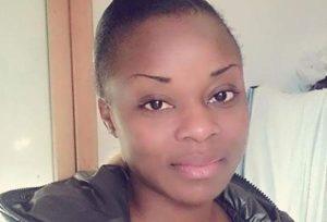 """Una immagine di Sandrine Bakayoko, la giovane donna ivoriana deceduta ieri all'interno del centro di accoglienza a Cona (Venezia). ANSA/PER GENTILE CONCESSIONE DE """"LA NUOVA VENEZIA"""" +++EDITORIAL USE ONLY - NO SALES+++"""