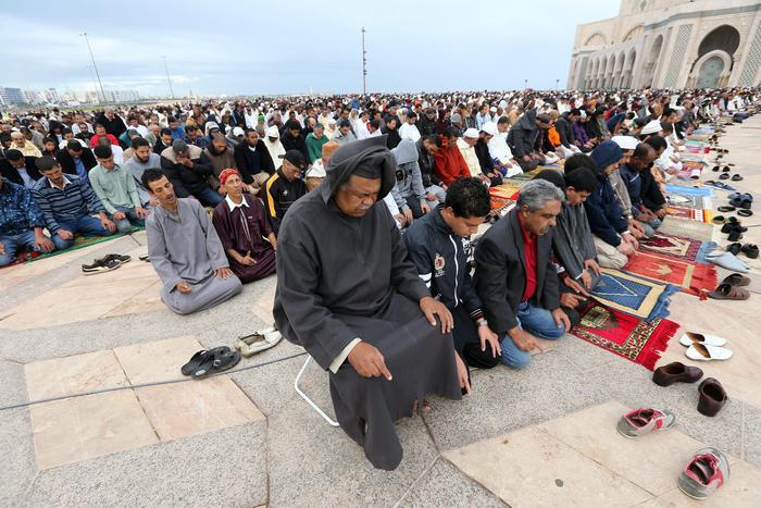 Moroccans celebrate Eid al-Adha