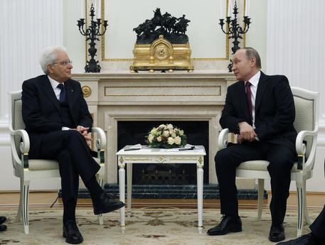 Italian President Sergio Mattarella pays an official visit to Moscow