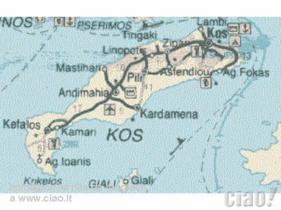 Isola di Kos terremoto