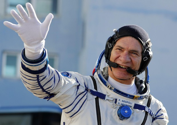 Paolo Nespoli su Soyuz
