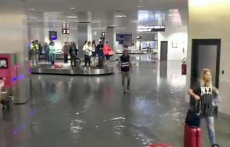 aeroporto bergamo (fermo immagine)