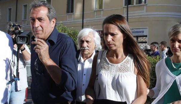 Ezio Denti e moglie di Bossetti
