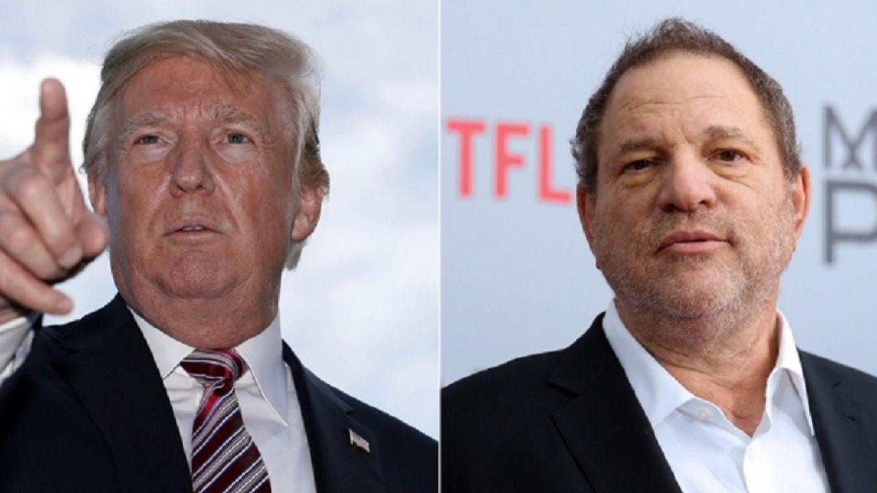 Trump e Weinstein