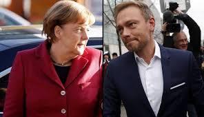 Merkel e Lindner