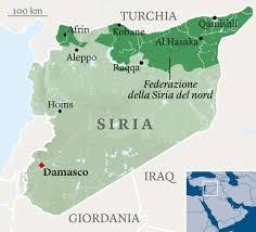 Siria e enclave curda di Afrin
