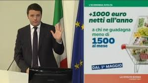Renzi e 80 euro