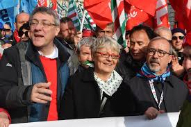 Corteo sindacati 2