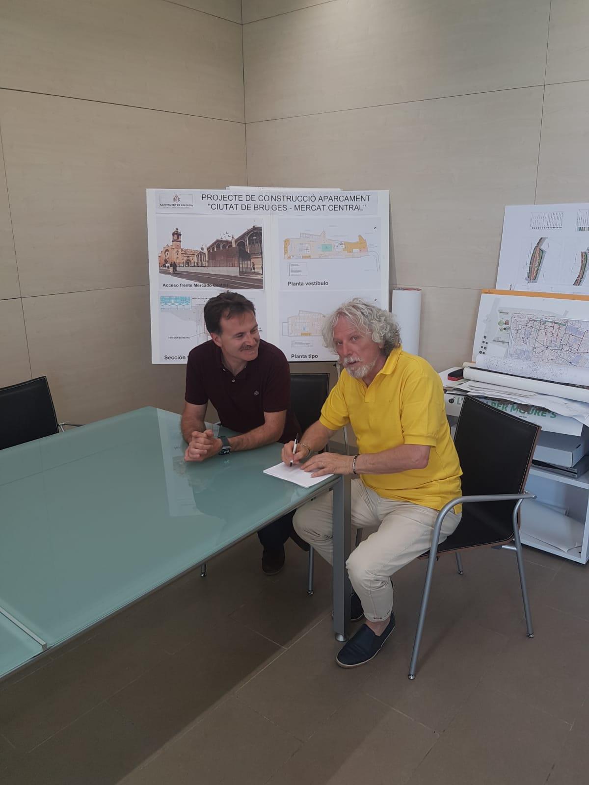 Provenzano e vice sindaco Valencia
