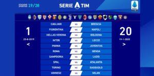 Calendario Serie A Juve 2019 2020.Calendario Pazzo Partenza Col Botto Per La Serie A 2019