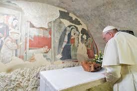 Papa a Greccio