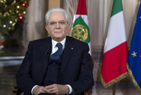 Italian President Sergio Mattarella year-end speech