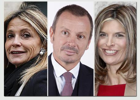 Da sx: Federica Zanella, Maurizio Carrara e Laura Ravetto (combo)