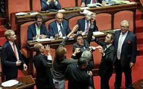 Bagarre Senato A