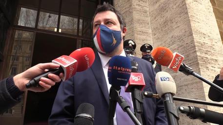 ++ Salvini, Lega pensa a italiani, 'Letta stai sereno' ++