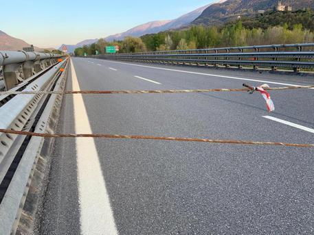 Cavo acciaio su autostrada Torino-Frejus