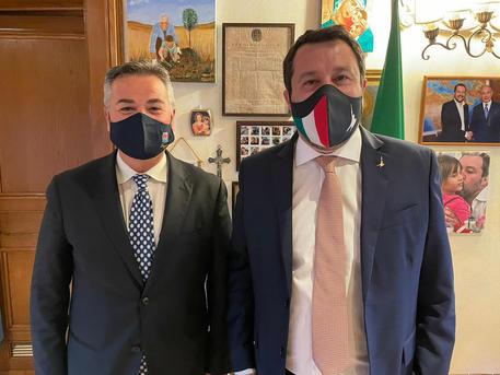 Puglia: incontro tra Salvini e il sindaco di Foggia landella