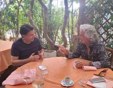 Conte e Grillo a Bibbona
